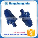 ductile cast iron fitting 2 way left thread connection swivel rotating joint