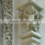 solid sand stone hand carved beautiful antique home decoration,wall bracket and sculpture