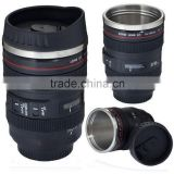 Looks Like Camera Lens 24-105mm Thermos Stainless Steel Travel Coffee Cup Mug for Coffee or Tea