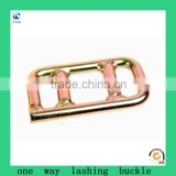 lashing buckle, strap adjuster, forged buckle,one way lashing buckle Hot Sale