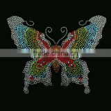 Beautiful butterfly rhinestone heat transfers designs
