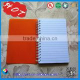 2015 hot sale Cheap coloring creative diary/cheap popular notepad/soft cover spiral notebook