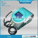 Shrink Trichopore CE Approved Ipl Photofacial Machine For Home Armpit / Back Hair Removal Use With 2 Handles (100000 Shots Low Price) Wrinkle Removal