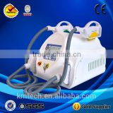 Distributor Best professoinal 3000W TEC cooling two handles ipl shr laser hair removal machine for sale