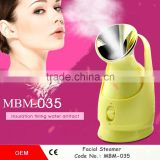 2016 Facial Cleansing Steamer Facial Machine into beauty facial machines Electric Ion beauty SPA/home use face and hair steamer