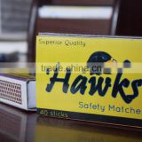 Match Boxes Customized Safety Matches from India