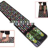 Kawachi Reflexology Walk Stone Foot Massage Leg Massager Mat Health Care