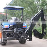 Tractor PTO Hydraulic Pump powered side shift backhoe