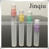 5ml/7ml/8ml/10ml bottle with colorful cap/wholesale PP plastic atomizer perfume pen/pen type cream bottle