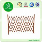 Large size eco-friendly new design outdoor wood garden fence
