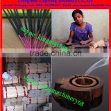 round bamboo incense stick splitting/ moulding machine