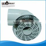 Bathtub Water Circlation System Part PVC Body Stainless Steel Cover Suction Inlet