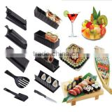 Sushi Maker Kit 10 Pieces Complete Home Sushi Making Kit DIY Easy Chef Set Rice Roll Mold Roller Cutter