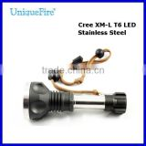 UniqueFire Rechargeable Self defence and security police flashlights