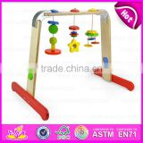 2015 New design Super baby play gym rack with rattle,Baby bed hanging toy bell music rack,Baby Rotatable Musical Rack W01A092
