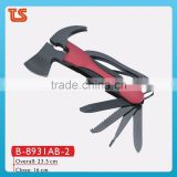 2014 new Outdoor tool with axe/wood cutting hand tools/stainless steel axe( B-8931AB-2 )