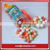 Multicolour Golfball Shape Fruity Flavour Bubble Gum