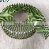 Manufacturer supply copper wire collated smooth shank nails belt, 1M - 5m pin belt, BELTS PIN