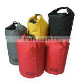 Waterproof pvc zip lock tarpaulin container camping water storage dry tube bag