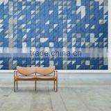 Acoustic wall panel board
