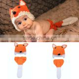 Baby Boy Girl Christmas XMAS Party Fox Costume Dress Outfit Cloth Gift+HAT Set