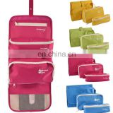 Removable Foldable Hanging Toiletry Bag Cosmetic Travel Bathroom Makeup Kit Organizer