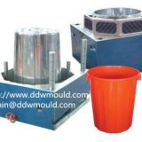 DDW Plastic Trash Bin Mold exported to South America