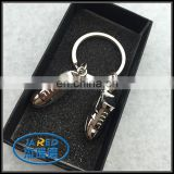 cheap custom fotball shoes 3d keychain from manufacturer