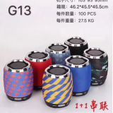 G13 creative bluetooth speaker gift set outdoor portable mini TWS plug-in card bluetooth audio