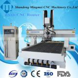 marble granite stone sculpture wood carving automatic tool change spindle price cnc wood carving machine for sale 3d