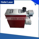 Hailei Factory fiber laser marking machine metal engraving machine power 20W metal tag engraving machine