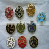 design yoursefl quality guarantee your own logo zinc alloy belt buckle 1618