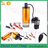 12V 24v Little Transfer Pump Water Oil Diesel Fuel Refueling Submersible Van Boat