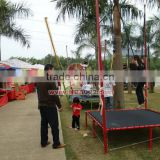 Mobile Bungee Trampoline Outdoor Amusement Equipment