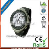 New Stylish 6 in1 Outdoor Sport Watches for Men Electronic Digital Altimeter Compass