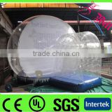 Christmas Promotion PVC Tarpaulin Inflatable Custom Made Snow Globe, Giant Inflatable Human Snowglobe