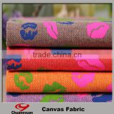 China Factory New Fashion Style Canvas Fabric For Bags And Sofa Fabric Wholesale
