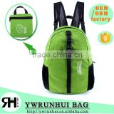 Fashion Nylon Waterproof Sports Folding Backpack Promotional day backpack                                                                         Quality Choice