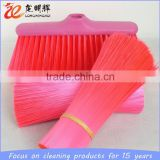 high performance colorful plastic rubber bristle for broom brush
