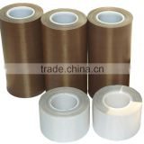 PTFE coated Fiberglass with silicone adhesive Teflone tape