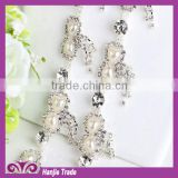 Clear crystal rhinestone chain AAA quality Rhinestone Chain trimming by roll