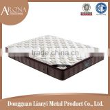 Hot selling hotel bed pocket pillow top spring mattress and box innerspring mattresses
