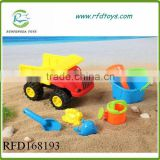 Kids cheap toys plastic sand beach toys set for kids beach toy