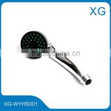 Cheap price shower head/Hot sale plastic cheaper shower head/single function hand held shower head