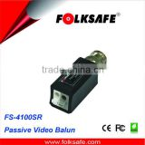 Reliable screwless UTP terminal block, Folksafe FS-4100SR, Passive video transmitter and receiver for cctv camera