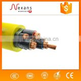 IEC60502-1 antiflaming and fire proof copper conductor mine power cable