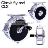Clicker drag system fly fishing reel classic fly reel