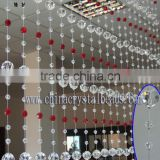 2016 Fashion handmade crystal beaded crafts curtain wholesale