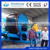 China fully automatic mobile tire shredder