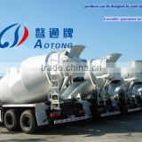 China hot sale 8-12 CBM concrete/cement mixer transport truck ()construction engineering mechanical truck